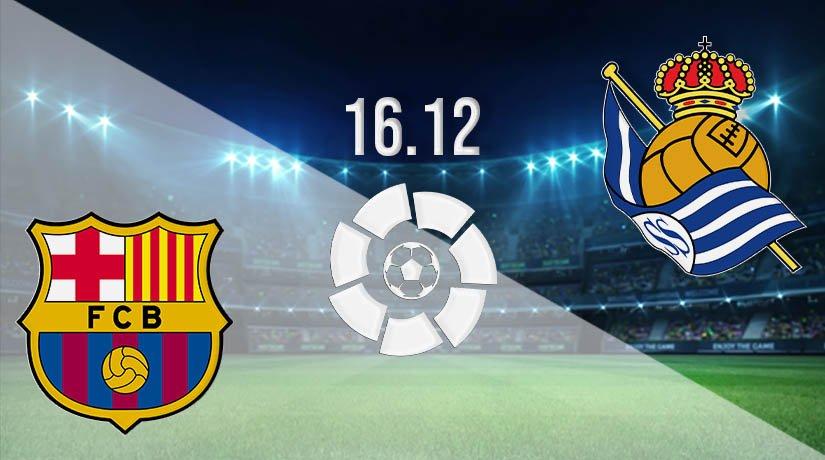 Barcelona vs Real Sociedad Prediction: La Liga Match on 16.12.2020