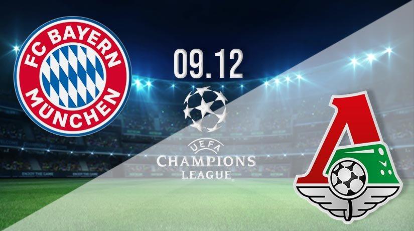 Bayern Munich vs Lokomotiv Moscow Prediction: UEFA Champions League on 09.12.2020