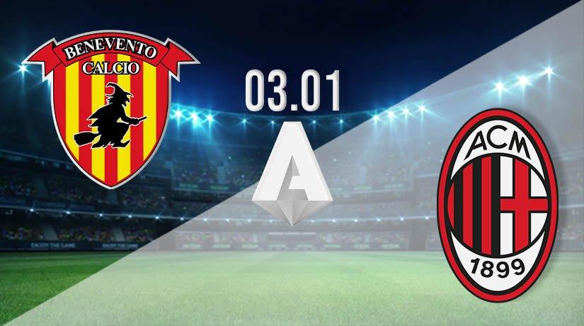 Benevento vs AC Milan Prediction: Serie A Match on 03.01.2021