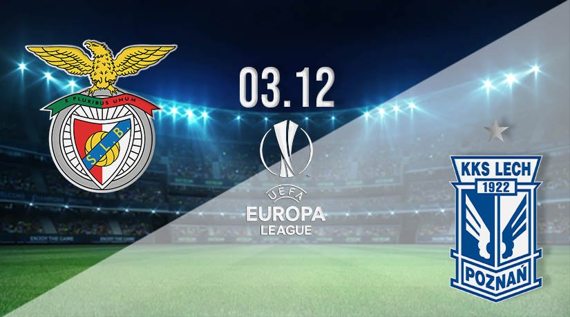 Benfica vs Lech Poznan Prediction: UEFA Europa League Match on 03.12.2020
