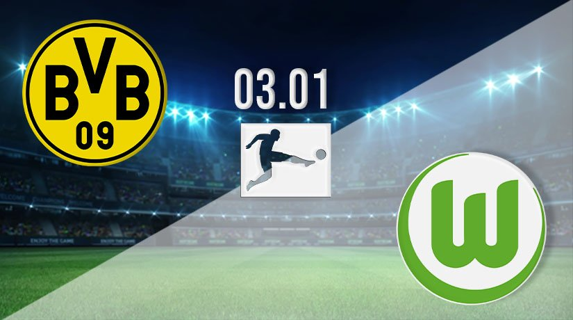 Borussia Dortmund vs Wolfsburg Prediction: Bundesliga Match on 03.01.2021
