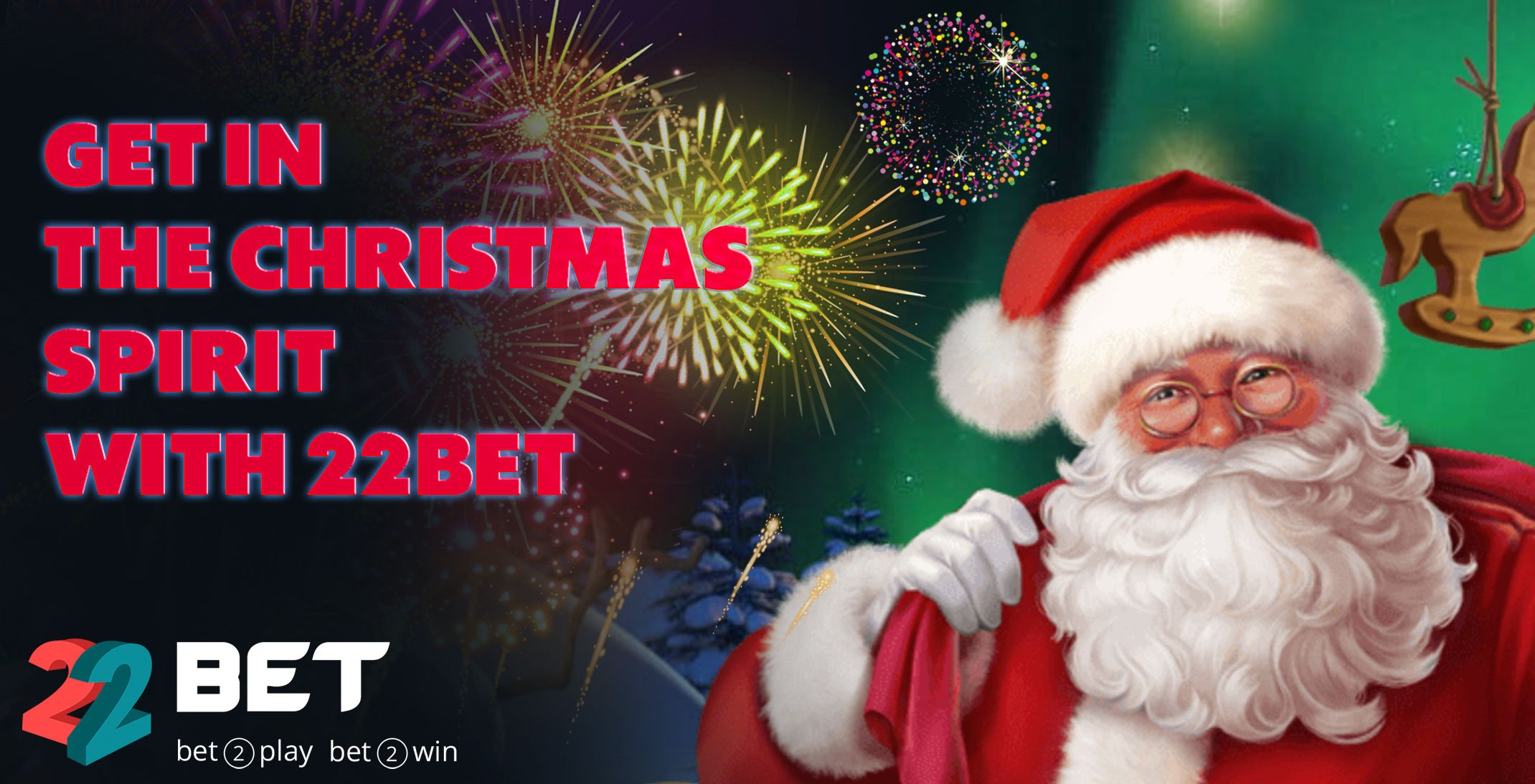 Get in the Christmas Spirit with 22Bet! Take Part in 22Bet Christmas Lottery