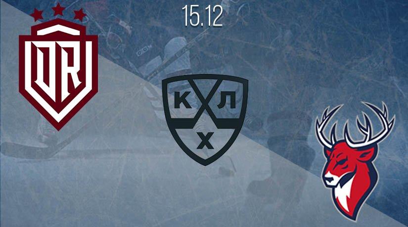 KHL Prediction: Dinamo Riga vs Torpedo on 15.12.2020