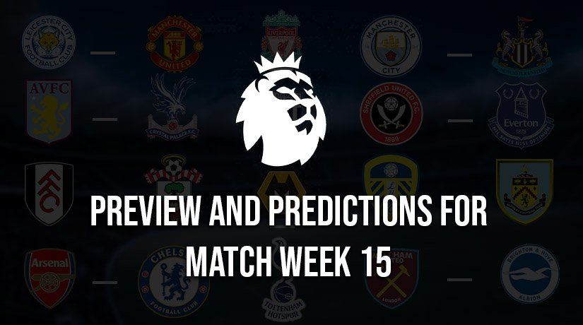 English Premier League Predictions for Boxing Day – Matchweek 15 – Season 2020/21