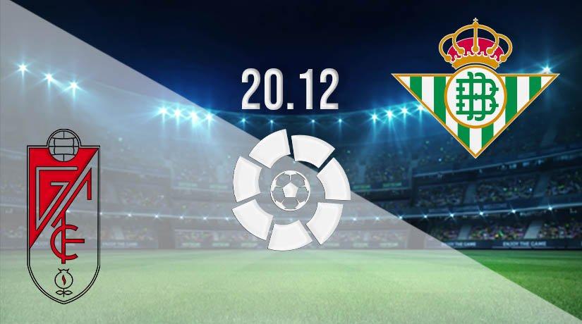 Granada vs Real Betis Prediction: La Liga Match on 20.12.2020