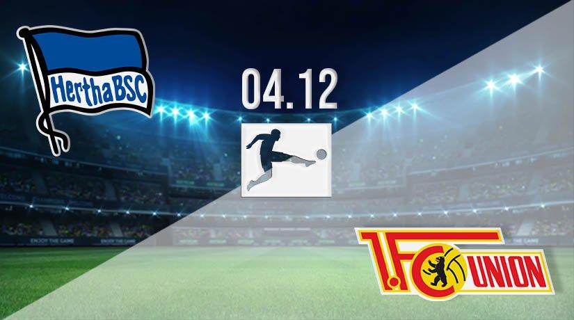Hertha Berlin vs Union Berlin Prediction: Bundesliga Match on 04.12.2020