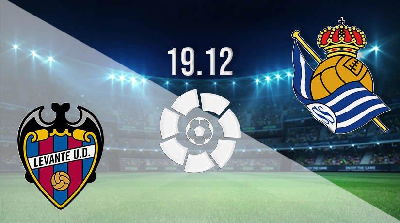 Levante vs Real Sociedad Prediction: La Liga Match on 19.12.2020