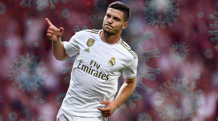 Luka Jovic recovered from coronavirus and returned to Real Madrid