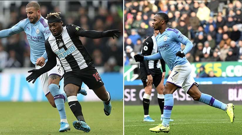 Man City vs Newcastle on boxing day 2020