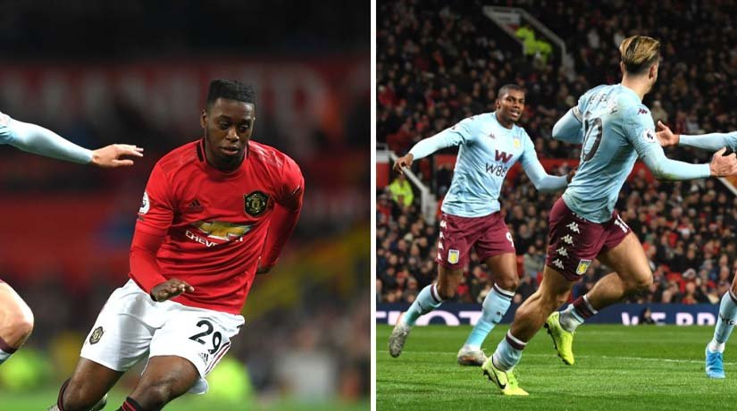 Man Utd vs Aston Villa Players