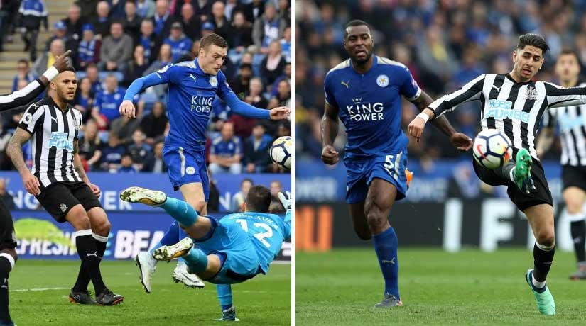 Newcastle vs Leicester Players