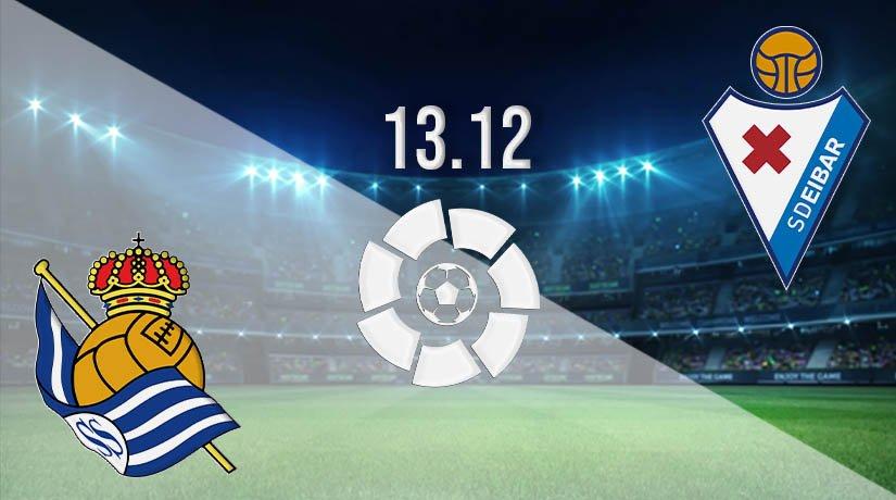 Real Sociedad vs Eibar Prediction: La Liga Match on 13.12.2020