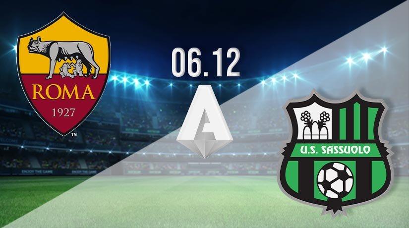 Roma vs Sassuolo Prediction: Serie A Match on 06.12.2020