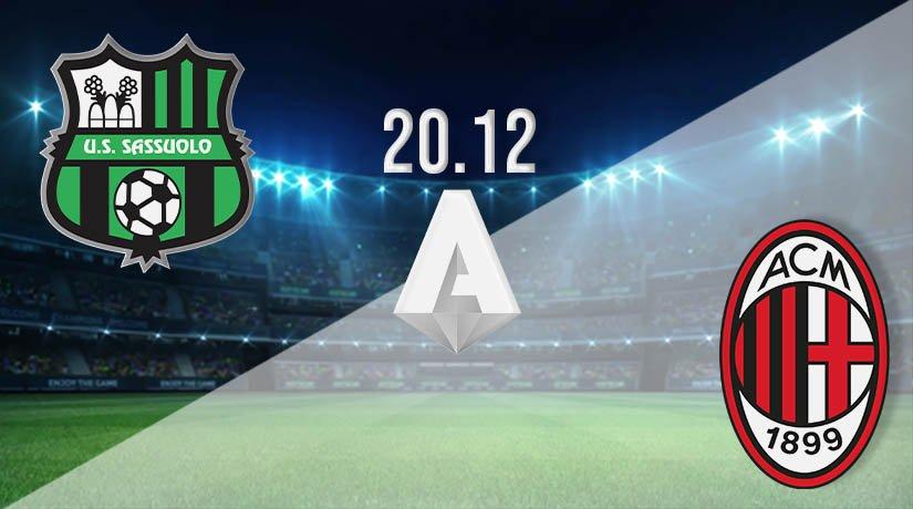 Sassuolo vs AC Milan Prediction: Serie A Match on 20.12.2020