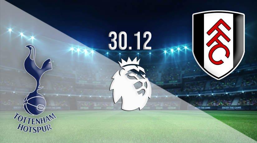 Tottenham vs Fulham Prediction: Premier League Match on 30.12.2020
