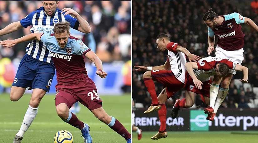 West Ham vs Brighton Players