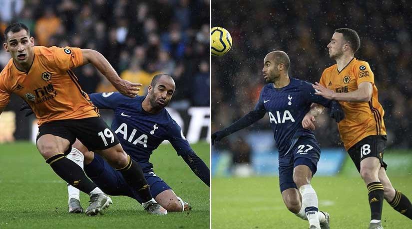 Wolves vs Tottenham Players