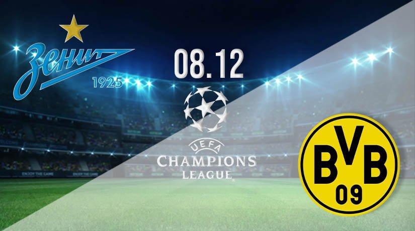 Zenit vs Borussia Dortmund Prediction: UEFA Champions League on 08.12.2020