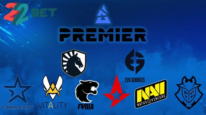 2020 BLAST Premier Global Final teams.