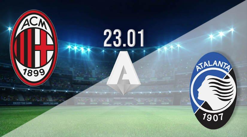 AC Milan vs Atalanta Prediction: Serie A Match on 23.01.2021