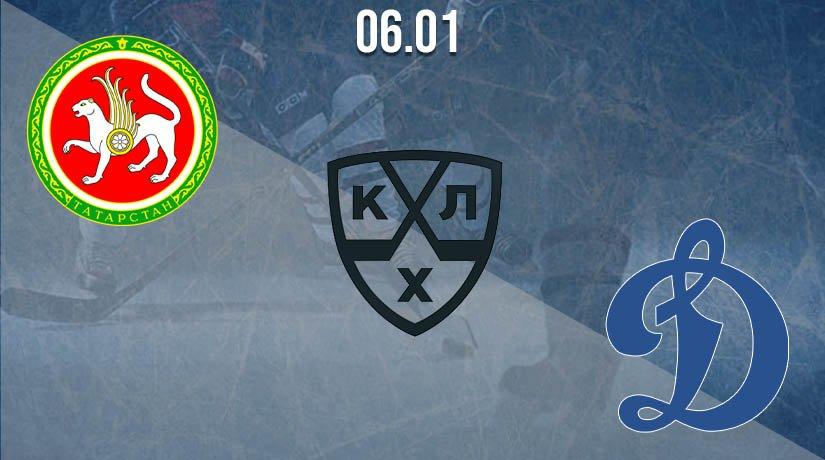 KHL Prediction: Ak Bars vs Dynamo Moscow 06.01.2021