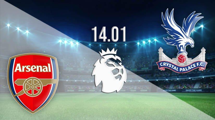 Arsenal vs Crystal Palace Prediction: Premier League Match on 14.01.2021