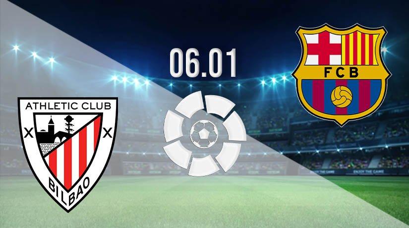 Athletic Bilbao vs Barcelona Prediction: La Liga Match on 06.01.2021