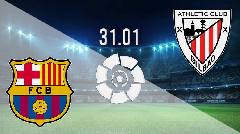 Barcelona vs Athletic Bilbao Prediction: La Liga Match on 31.01.2021