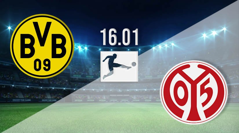 Borussia Dortmund vs Mainz Prediction: Bundesliga Match on 16.01.2021