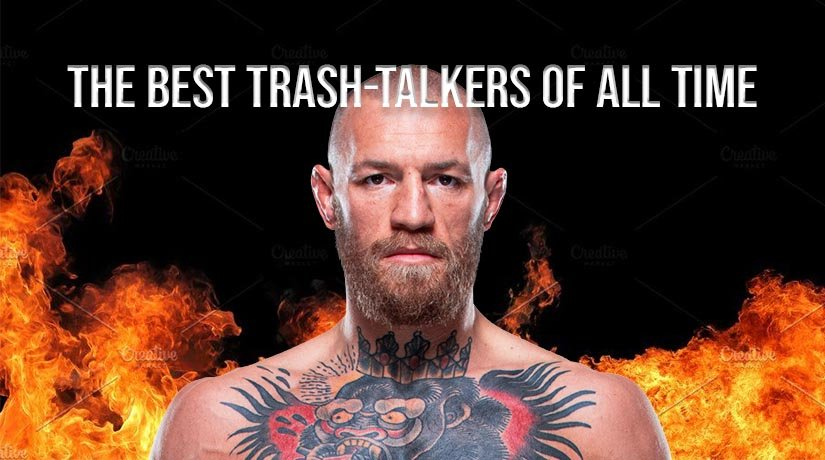 Conor McGregor ranked fifth in the ranking of the best trash-talkers of all time