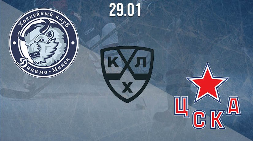 KHL Prediction: Dynamo Minsk vs CSKA on 29.01.2021