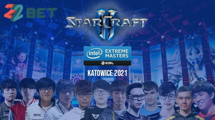 IEM Katowice 2021 StarCraft II Tournament players