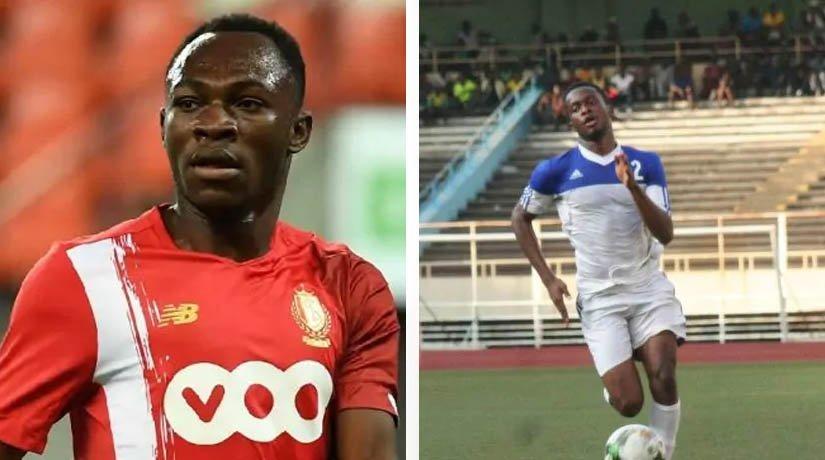Jackson Muleka and Joel Beya of the DR Congo national team