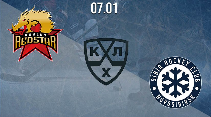 KHL Prediction: Kunlun Red Star vs Sibir 07.01.2021