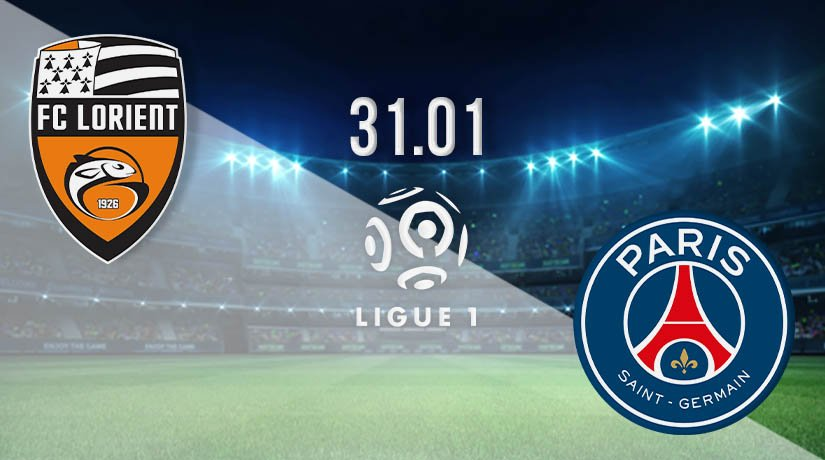Lorient vs PSG Prediction: Ligue 1 Match on 31.01.2021