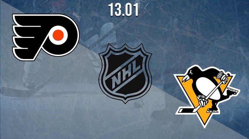 NHL Prediction: Philadelphia Flyers vs Pittsburgh Penguins on 13.01.2021