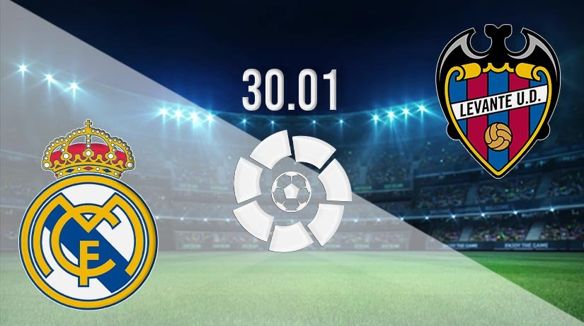 Real Madrid vs Levante Prediction: La Liga Match on 30.01.2021