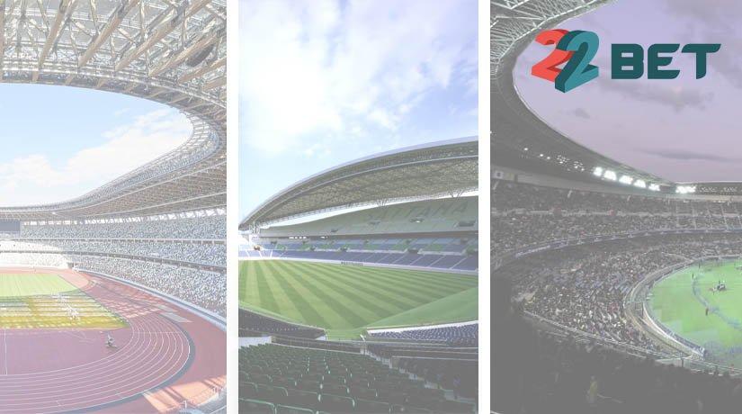 Tokyo 2020 Summer Olympics football stadiums