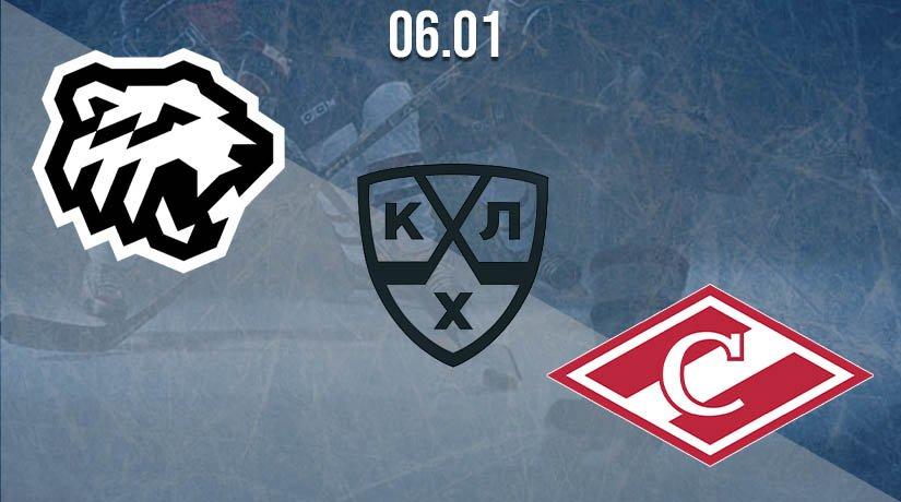 KHL Prediction: Traktor vs Spartak 06.01.2021