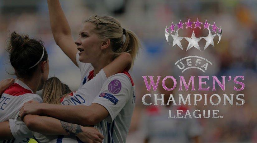 Lyon women team in Women's Champions League