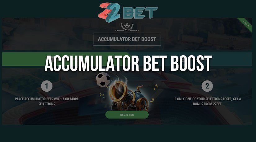 Supercharge Your Accas with 22Bet's New Accumulator Bet Boost Program
