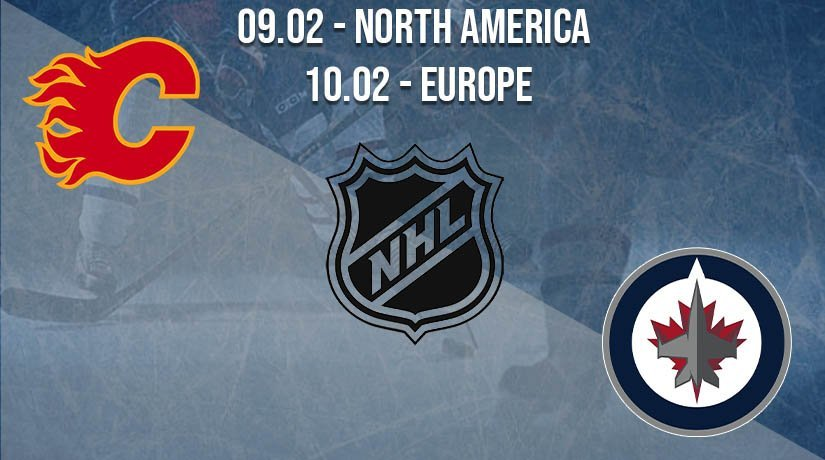 NHL Prediction: Calgary Flames vs Winnipeg Jets on 09.02.2021 North America, on 10.02.2021 Europe
