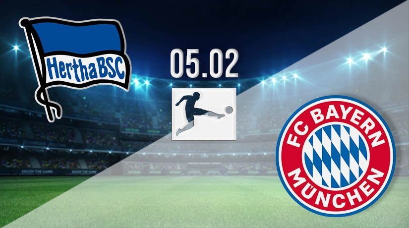Hertha Berlin vs Bayern Munich Prediction: Bundesliga Match on 05.02.2021