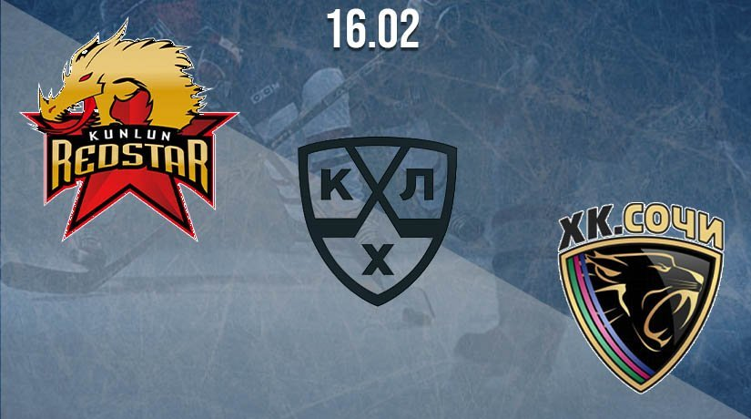 KHL Prediction: Kunlun Redstar vs Sochi on 16.02.2021