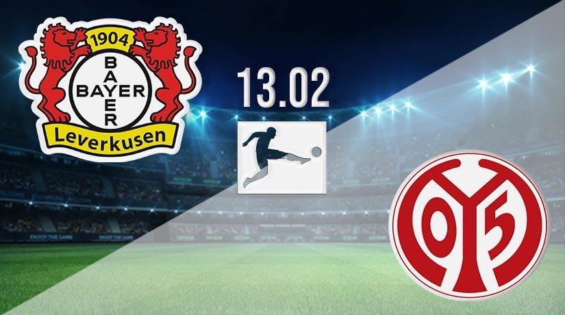 Bayer Leverkusen vs Mainz Prediction: Bundesliga Match on 13.02.2021