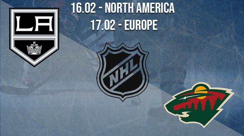 NHL Prediction: Los Angeles Kings vs Minnesota Wild on 16.02.2021 North America, on 17.02.2021 Europe