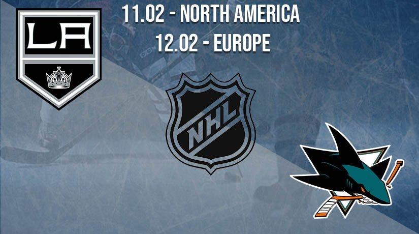 NHL Prediction: Los Angeles Kings vs San Jose Sharks on 11.02.2021 North America, on 12.02.2021 Europe