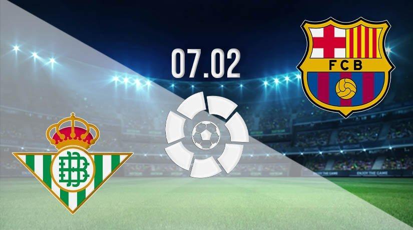 Real Betis vs Barcelona Prediction: La Liga Match on 07.02.2021