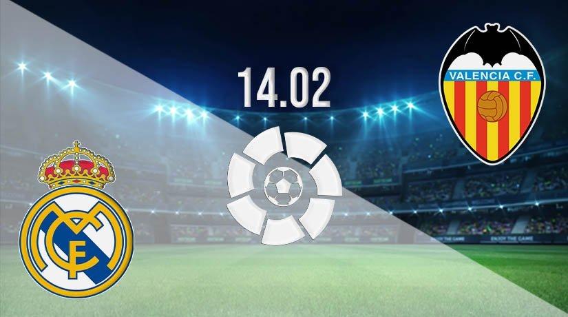Real Madrid vs Valencia Prediction: La Liga Match on 14.02.2021