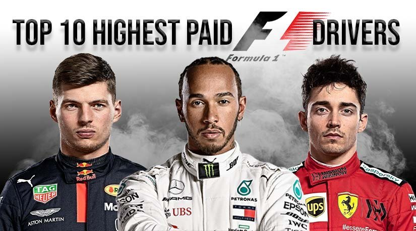 Top 10 highest paid Formula 1 drivers in 2021 season